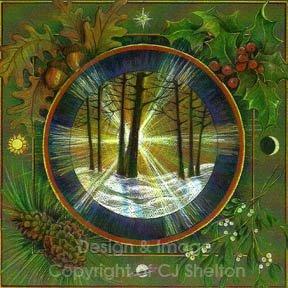 Celtic Wheel of the Year Mandalas
