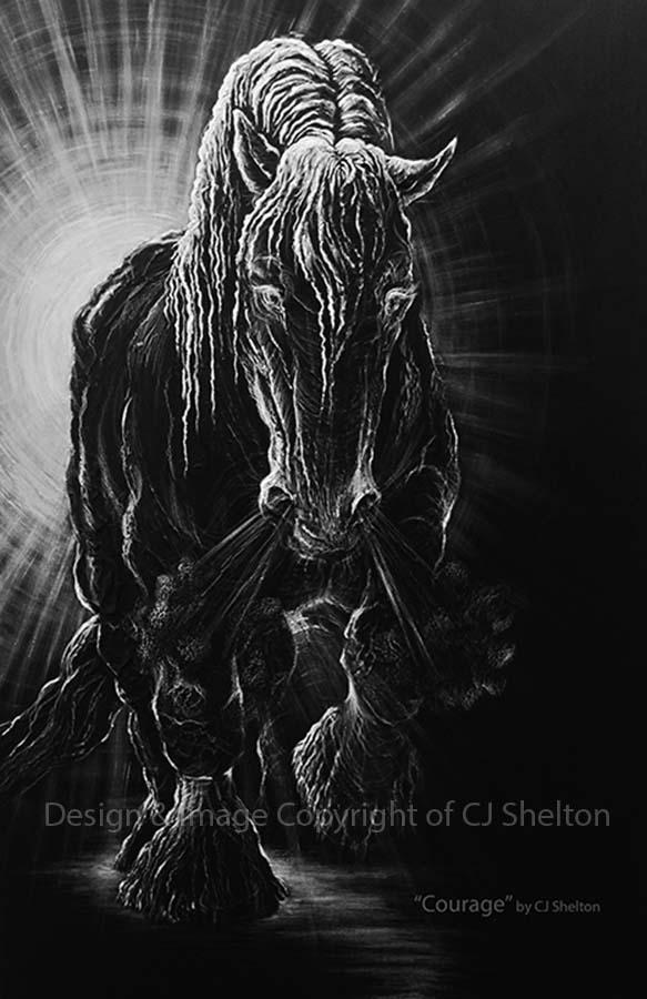 Courage by CJ Shelton