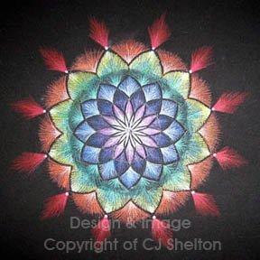 """""""Chakra Sun"""" by CJ Shelton"""