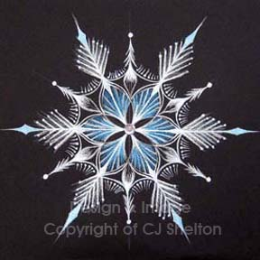 """Snow Crystal"" by CJ Shelton"