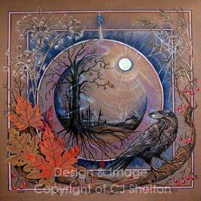"""Samhain"" by CJ Shelton"