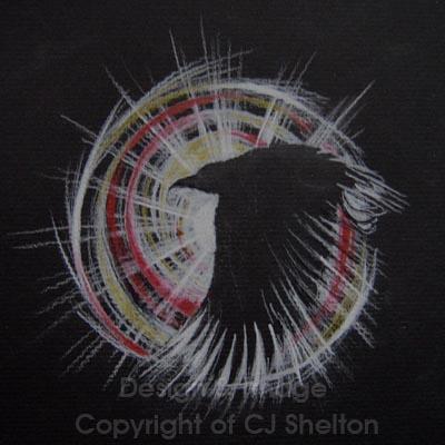 """""""Raven Spirit"""" by CJ Shelton"""