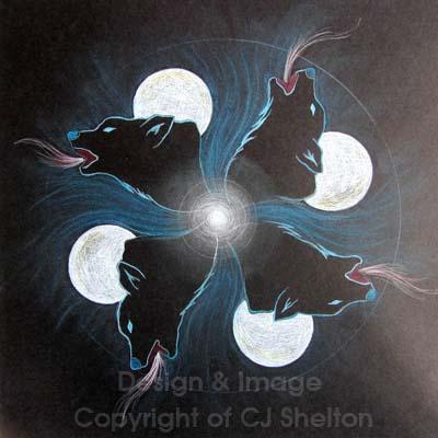 """""""Wolf's Moon"""" by CJ Shelton"""