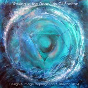 """""""Rolling in the Deep"""" by CJ Shelton"""