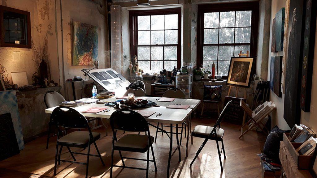 CJ Shelton's Studio #206