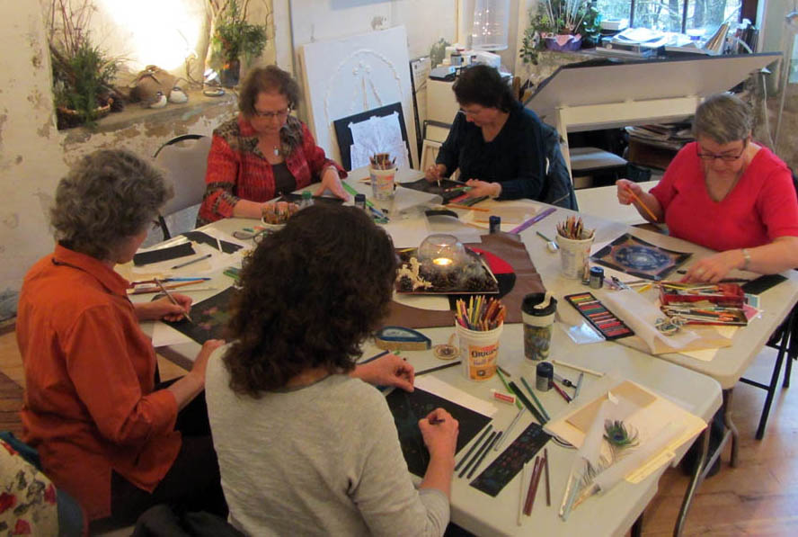 Art in the Round Workshop with CJ Shelton