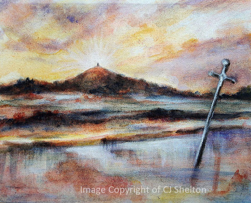 """Awatting the Return to Avalon"" by CJ Shelton"