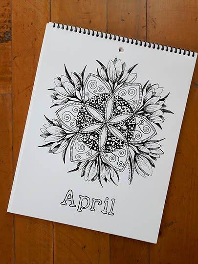 Calendar Image - April