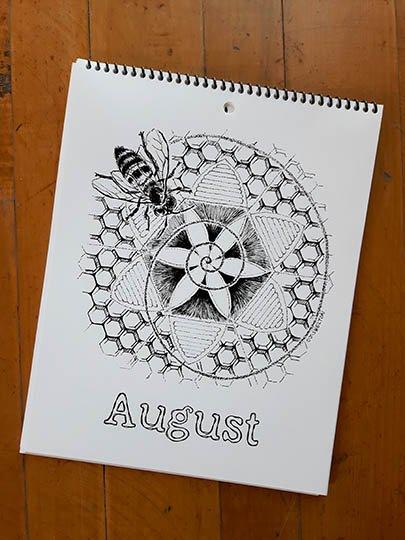 Calendar Image - August