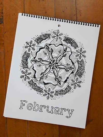 Calendar Image - February