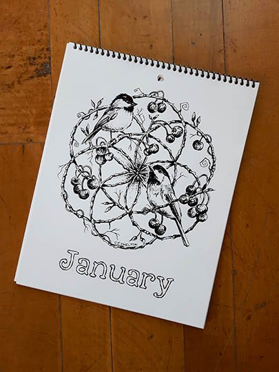 Calendar Image - January
