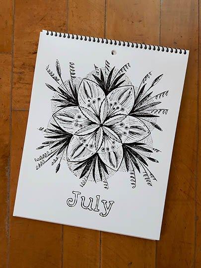 Calendar Image - July