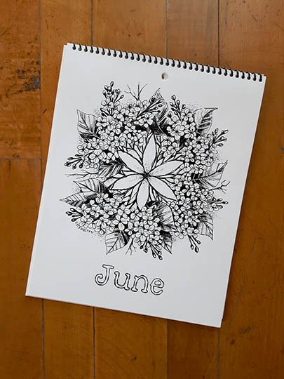 Calendar Image - June