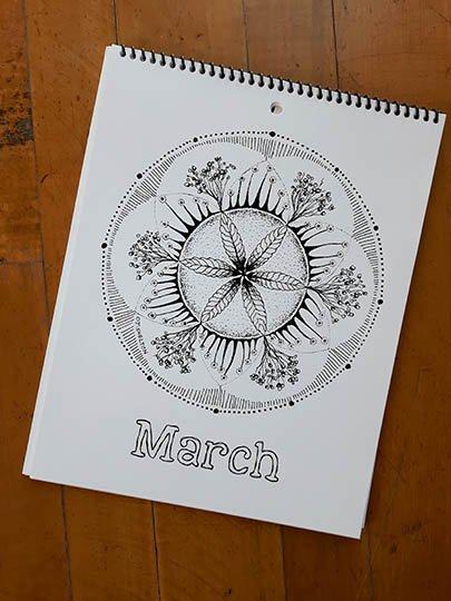 Calendar Image - March
