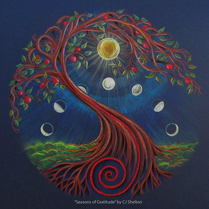 """Seasons of Gratitude"" by CJ Shelton"