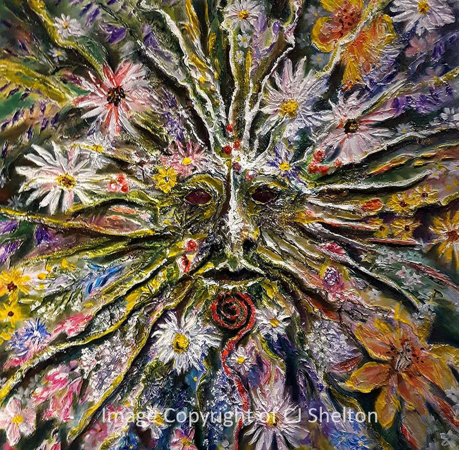 """Spirit of the Flowers"" by CJ Shelton"
