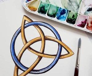 Celtic knot workshop