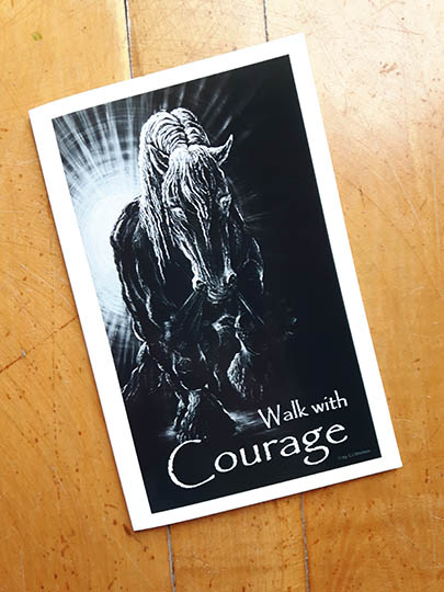 Courage Card Front