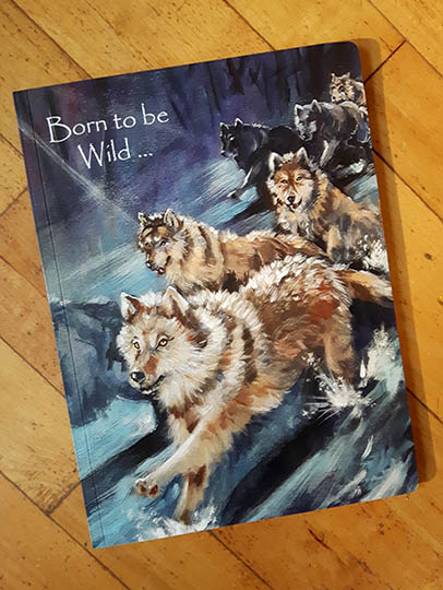 Wolves Journal - Front