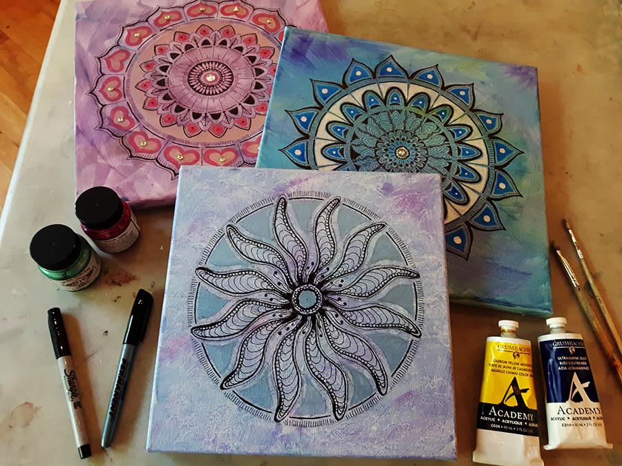 Mandala Doodle & Paint